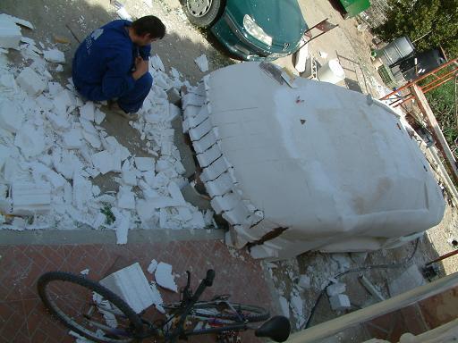 Construyendo mi replica de lamborghini Murcielago y Reventon